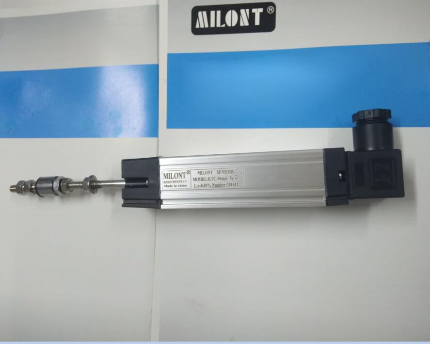 MILONT linear displacement sensor KTC-375mm KTC375 KTC-375 electronic scale , injection molding machine transducer. ktc 1000mm linear transducer scale module position linear scale