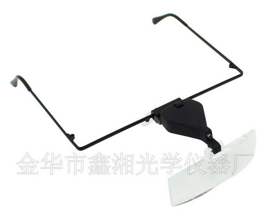 От dhl 200 шт высокое качество очки для чтения LED свет увеличительное стекло Hands Free