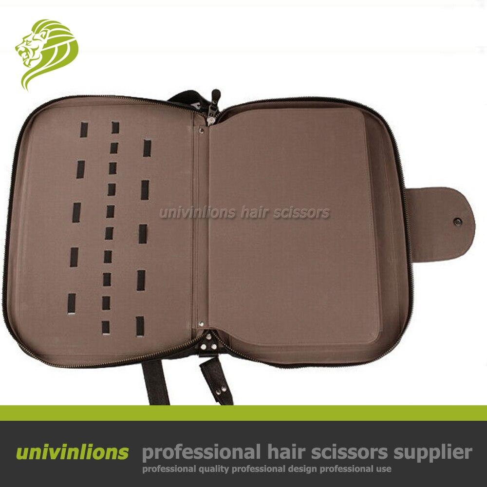 Univinlions 40/60 個理髪理髪バッグ革ホルダーバリカンケースシザーケース理髪シザーポーチヘアはさみホルスター  グループ上の 美容 & 健康 からの ヘア ハサミ の中 2