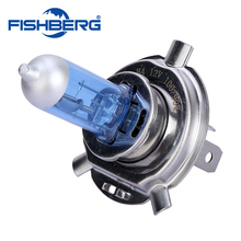 H4 12V 6000K 100W 90W Halogen High Low Beam Light Auto Headlight Bulb Xenon White 9003 Lamp FISHBERG