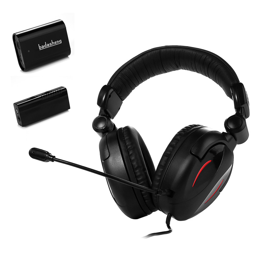 badasheng Fiber Optical Multifunction Gaming Headset With Digital Audio Decoder,compatible with for PS4,PS3,Xbox one,Xbox 360 ...