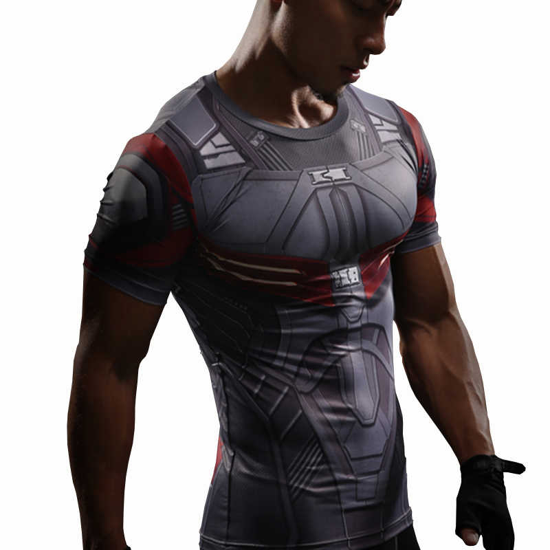 13013623 Detail Feedback Questions about Falcon T Shirt Captain America Civil War Tee  3D Printed T shirts Men Marvel Avengers 3 Compression Bodybuilding Crossfit  ...