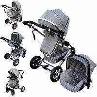 прогулочная коляска 3 в 1 коляски для новорожденных коляски детские