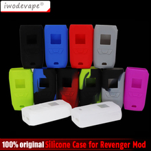 Protective Silicone Case Cover Skin sleeve For Vaporesso Revenger 220 Mod Colorful Revenger Case Electronic Cigarette cases