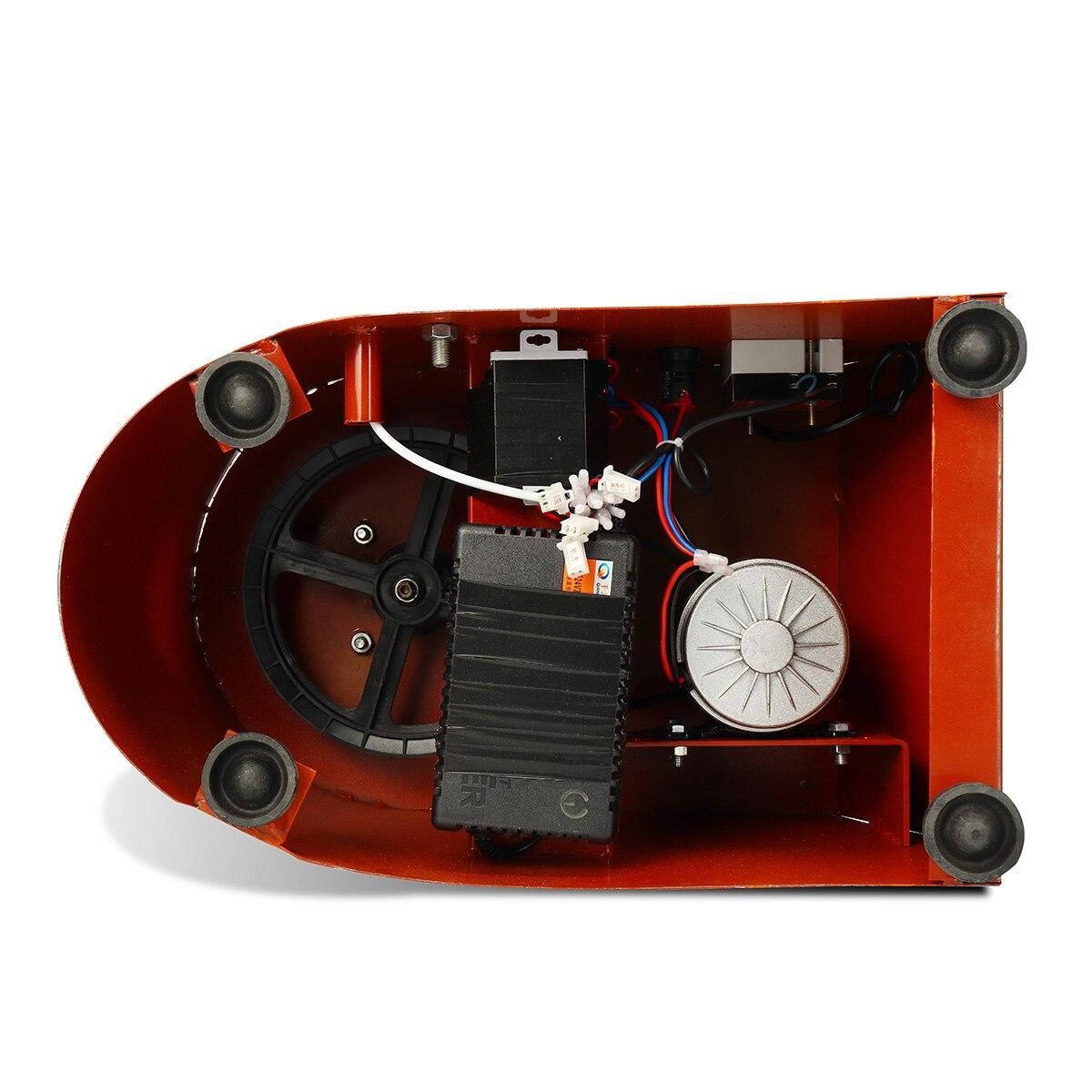 25 cm AC 110 V/220 V poterie roue Machine céramique travail céramique argile Art avec pédale Mobile 42x52x35 cm métal + alliage d'aluminium - 6