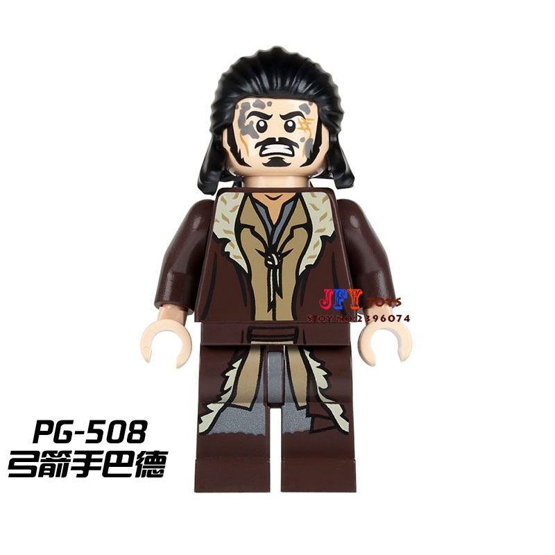 Single Sale star war superhero The Hobbit Bard the Bowman movie building blocks model bricks toys for children brinquedos menino