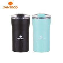 Santeco 350ml Stainless Steel Tumbler Light Weight Car Travel Coffee Mug Thermos Cups Vacuum Flask Water Bottle Tea Mug(China)