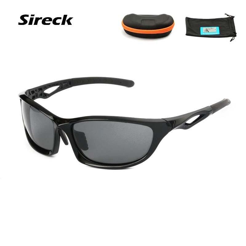 a486ae472b40d Sireck para Mulheres dos Homens Óculos de Pesca Sol do Esporte Polarizados  2018 Óculos de Condução Ciclismo Proteção uv Óculos Escalada Viagem