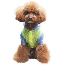 Pet Dog Raincoat Waterproof Coats Dog Jacket Cat Coat Outdoor Apparel Puppy Small Dog Raincoats