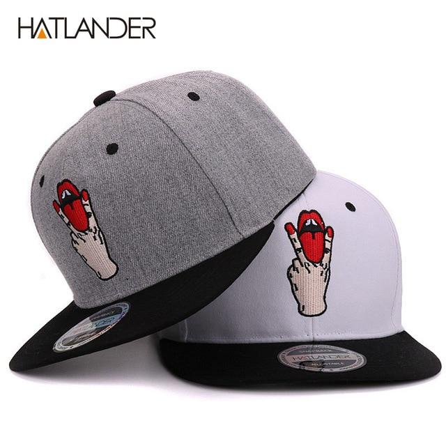 7a0a777480cc € 6.57 44% de DESCUENTO|Aliexpress.com: Comprar Gorra de béisbol con letras  para chicas Hatlander bboy gorras planas para deportes al aire libre ...