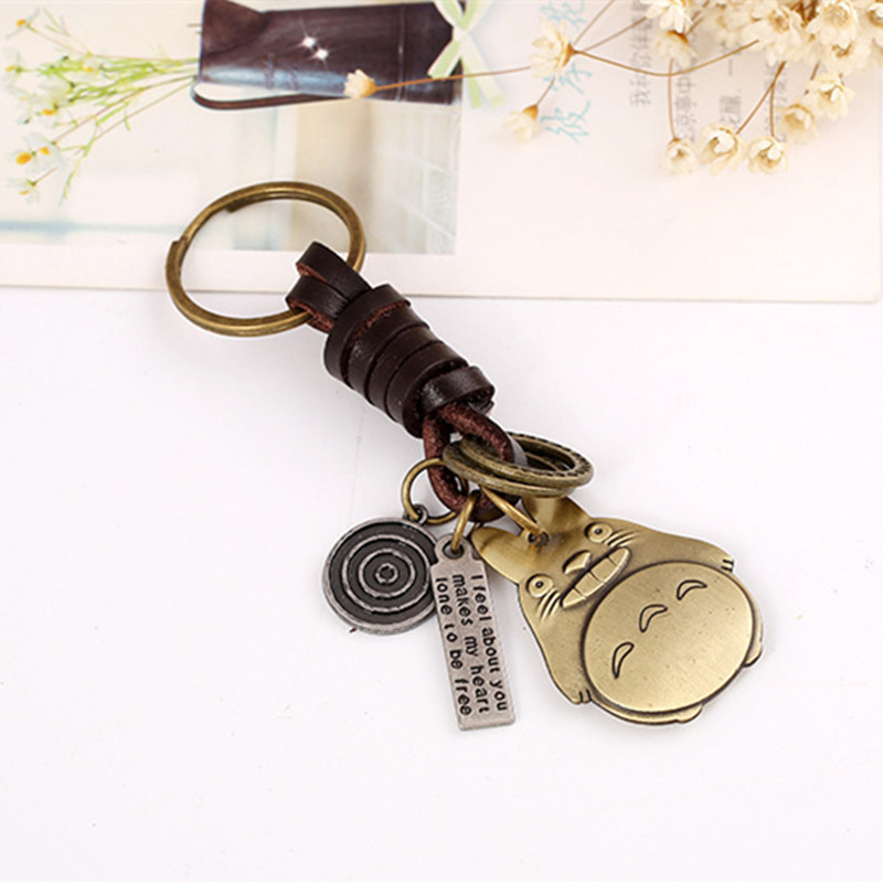 Fashion Portable Zinc Alloy Of Pet Accessories Mens Leather Keychains And Retro Punk Backpack Pendant Jewelry Wholesale