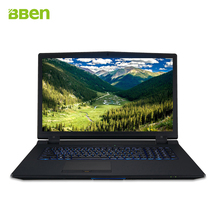 Bben office Gaming Notebook 17.3″ Full HD Intel i7 6700k quad Core Laptop with DDR4 16G&256G M.2 SSD+2TB HDD type-c 82WH Battery