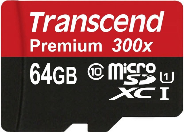 Transcend Sealed Real 64GB 32GB 16GB MicroSD MicroSDHC MicroSDXC Micro SD SDHC SDXC Card 45MB/S class 10 UHS-1 TF Memory Card