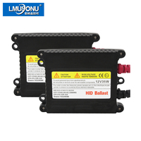 LMUSONU 1 PAIR HIGH QUALITY AC 12V 35W HID XENON BALLAST DIGITAL CAR HID BALLAST