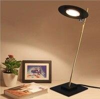 Glow Table Lamp in Satin Golden Metal Body