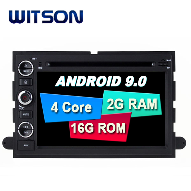 WITSON Android 9.0 car gps system for FORD F150/Explorer/Edge/Expedition/Mustang car audio gps dvd car radio car gps dvd player