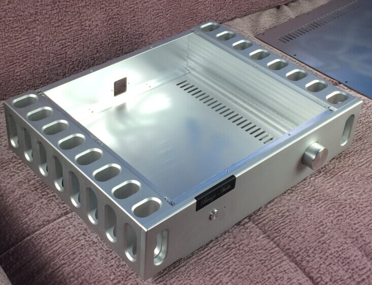breeze audio aluminum pream/ amplifier chassis /case BZ4309 CNC(aluminum enclosure) breeze audio diy aluminum chassis power