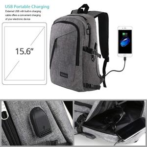 Image 5 - Laptop Backpack Business Anti Theft Travel Computer Bag for Women and Men, Slim Water Resistant College School Bookbag with USB