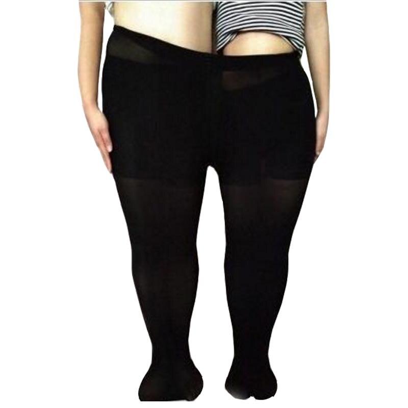 3 pcs Female Spring Summer Tights Elastic Big Plus Size Womens Pantyhose Nylons Sexy Ladies Stockings 120d Black Coffee XXL XXXL