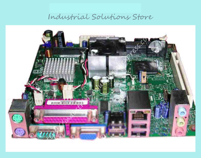 Original D945GCLF atom 230 1.6g 17x17 pos machine desktop board well tested working original motherboard for atom n270 1 6g miniitx well tested working
