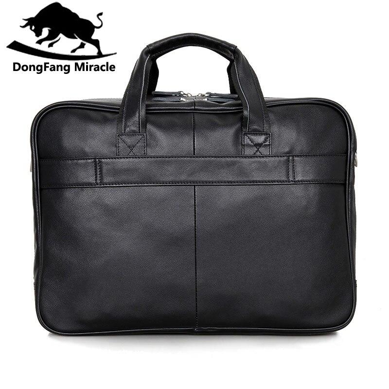 本革メンズメッセンジャーバッグビジネス大容量男性ハンドバッグべきバッグ17インチのラップトップ旅行バッグ  グループ上の スーツケース & バッグ からの クロスボディ バッグ の中 3