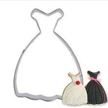Decorating-Tools Cookie-Cutter Cake-Mold Skirt-Shape Fondant 1cs Women