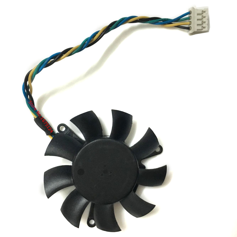 Diameter 45mm 0.19A 2pin Computer Vedio Card VGA Cooler Fan For Leadtek Quadro K620 Grap ...