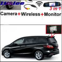 3 In1 Special Rear View Camera Wireless Receiver Mirror Monitor Easy DIY Back Up Parking System