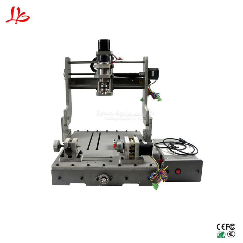 DIY cnc engraving milling machine 3040 USB port mach3 ER11 3D 4axis rotary tailstock 1pc 4axis cnc router 6040z usb mach3 auto engraving machine with 1 5kw vfd spindle and usb port for hard metal