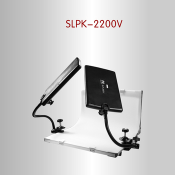 FalconEyes SLPK-2200V folding shooting station translucidus recording studio still life table background PVC plate photo table