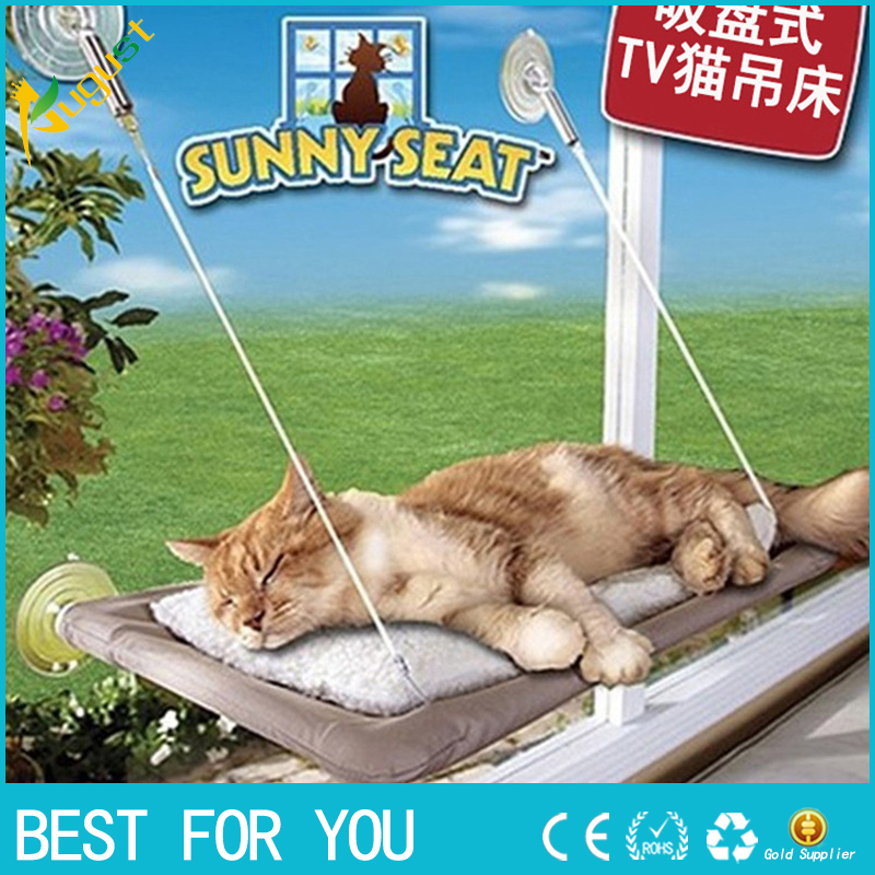 Hot Selling New Window Mount Cat Bed Pet Hammock Sunny Seat Pet Beds With Color Box