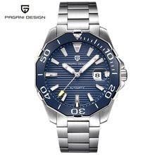 2019 New Brand PAGANI DESIGN 1617 Men's Military Sport Mechanical Watches Waterproof Stainless Steel Top Brand Luxury Men Watch(China)