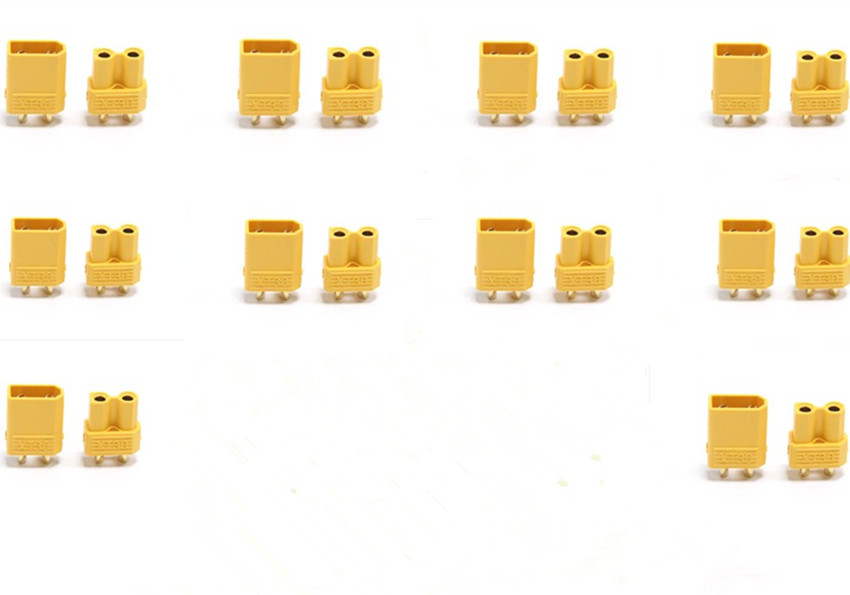 Free Shipping Hot sale of gold xt30 2 mm / set for RC plane Mini quadcopter multicopter