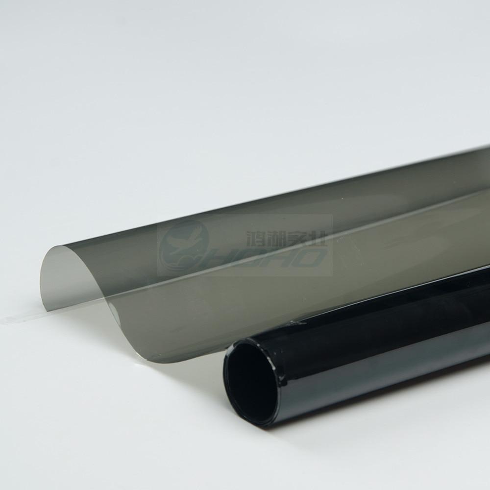 Insulate Car Windows: 1.52x10m Dark Gray UV Insulation Car Window Tint Film VLT