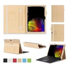 Folding Flip leather Case Cover for Lenovo IdeaPad Miix 4 12 font b Laptop b font