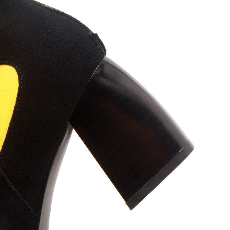 27bee1aa Nuevas-botas-de-gamuza-de-cuero-para-mujer-botas-de-tobillo-tacones-altos- zapatos-de-fiesta.jpg
