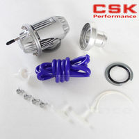 Universal Silver SQV SSQV Bov Turbo Blow Off Valve Bov with Adapter Flange IV 4