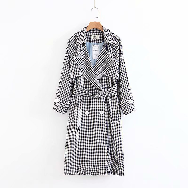 Women's Clothing New Arrival Women 8-115-8258 European And American Fashion Wind Lattices