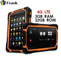 원래 4 그램 LTE T70 V2 태블릿 PC 3 기가바이트 RAM + 32 기가바이트 ROM 7 인치 휴대 PhoneQuad 코어 비트 IP68 방수 내진성 13MP 9650 미리암페르하우어