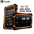 Оригинальный 4G LTE T70 V2 планшетный ПК 3 ГБ ОЗУ + 32 Гб ПЗУ 7-дюймовый сотовый телефон equad core 64bit IP68 водонепроницаемый ударопрочный 13 МП 9650 мАч