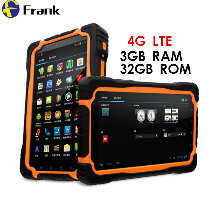 Original 4G LTE T70 V2 Tablet PC 3 GB RAM + 32 GB ROM 7 Inch Zelle PhoneQuad core 64bit IP68 wasserdicht Stoßfest 13MP 9650 mAh