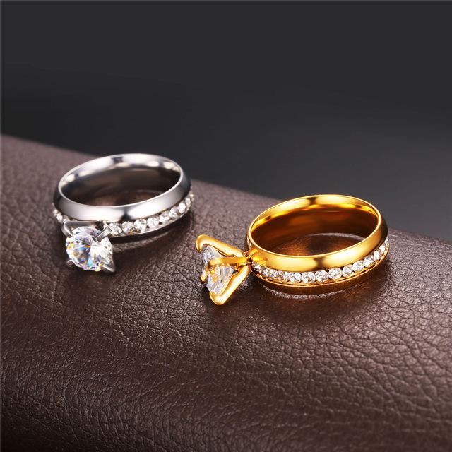 Brand Fashion Engagement Rings R441