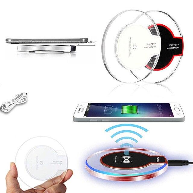 Qi Sạc Không Dây Sạc Cảm Ứng Sạc đối với Apple iPhone Xs Max 8 Cộng Với đối Với Samsung Galaxy S9 S8 Cộng Với Lưu Ý 9 8 S7