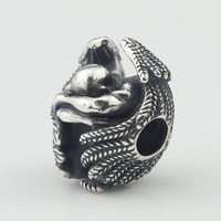 Diy Jewelry 925 Sterling Silver Male angel bead For Jewelry Making Charm Fits Troll Bracelet&Necklace free shipping