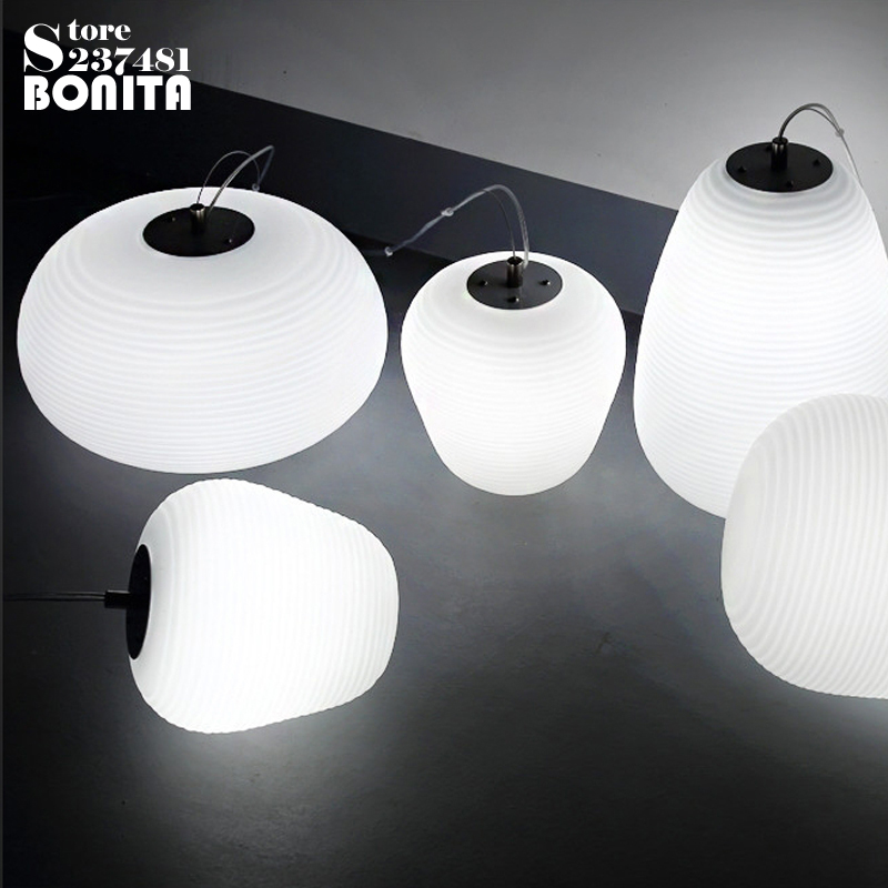 Simple White Glass Cord Pendant Lamp Milky Ball Hanging Lights Bedroom Thread Cloud Pendant Lamps glass ball pendant light stairs pendant lamps restaurant decoration glass pendant lights glass lamp lighting hanging lamp cord