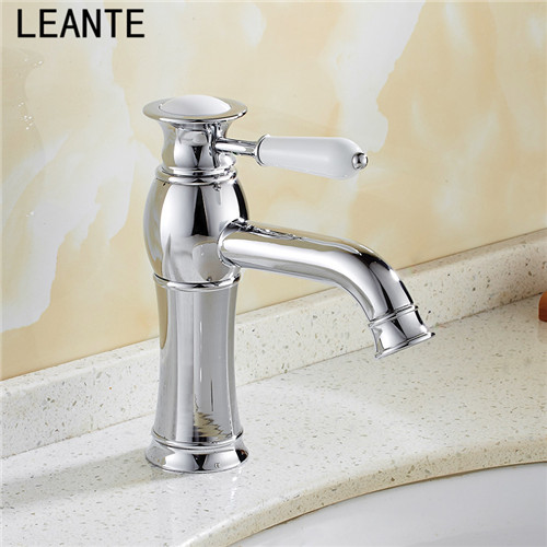 Aliexpress.com : Buy LEANTE Copper bathroom face basin European ...