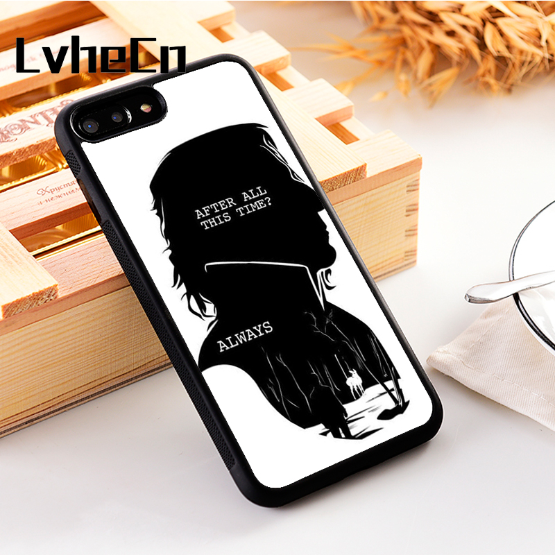LvheCn 5 5S SE phone cover <font><b>cases</b></font> for <font><b>iphone</b></font> 6 6S 7 <font><b>8</b></font> Plus X Xs Max XR Soft Silicon New <font><b>HARRY</b></font> <font><b>POTTER</b></font> QUOTES RON HERMIONE SNAPE image