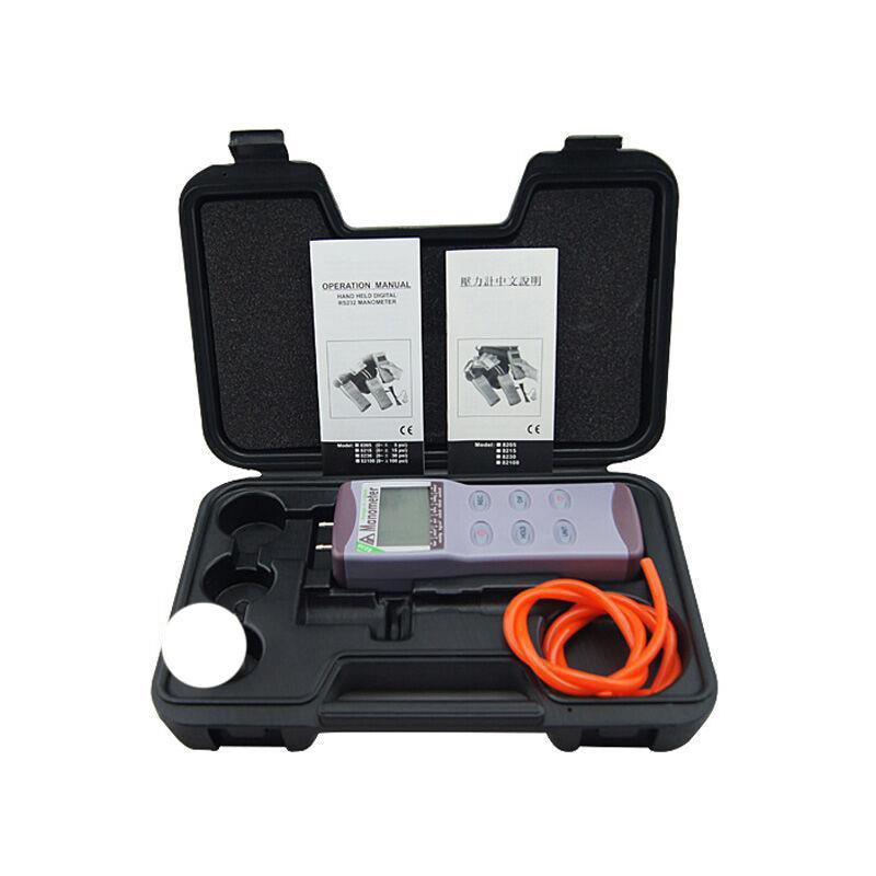 AZ8230 digital pressure meter, differential pressure manometer pressure manometer digital meter measuring pressure 0~+/-30PSI