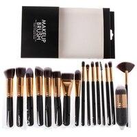 17 Pcs SET Makeup Brush Set Professional Make Up Beauty Blush Foundation Contour Powder Cosmetics Brush