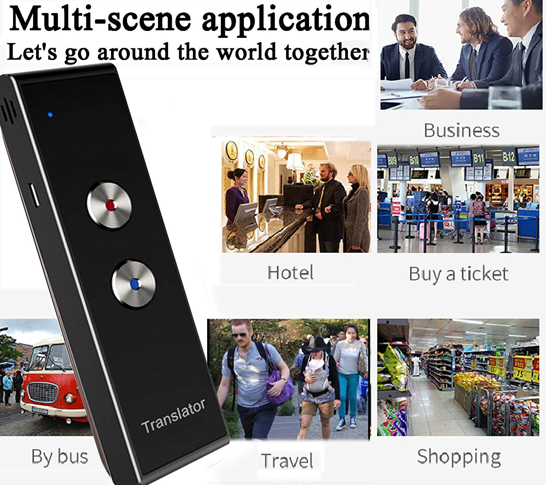 Smart Language Translator Handheld Portable Real Time Instant Two Way 39 Language Translation Support Freely Translation in Translator from Consumer Electronics